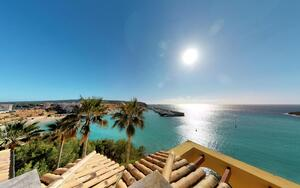 Penthouse in Nova Santa Ponsa - Roof terrace panoramic views