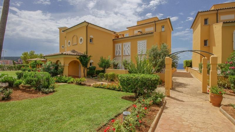 Penthouse in Nova Santa Ponsa - Community garden1