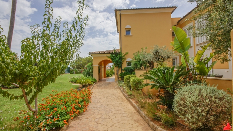 Penthouse in Nova Santa Ponsa - Community patio