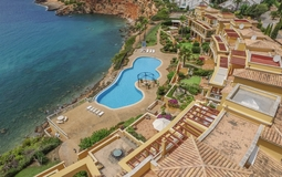 Penthouse in Nova Santa Ponsa - Complex from above