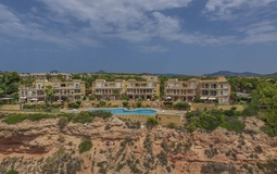 Penthouse in Nova Santa Ponsa - Complex view from sea