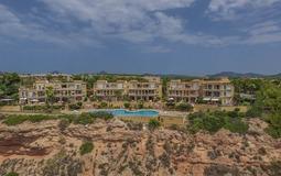 Penthouse in Nova Santa Ponsa - Complex view from sea