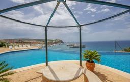 Penthouse in Nova Santa Ponsa - Pool terrace and chiringito