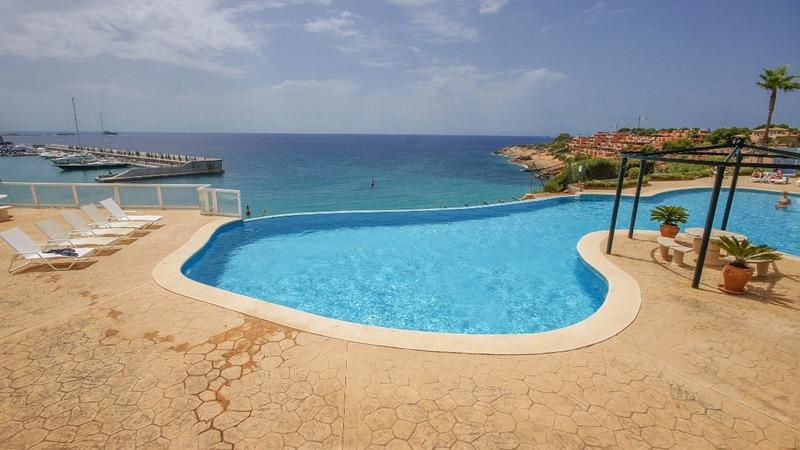 Penthouse in Nova Santa Ponsa - Pool terrace