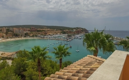 Penthouse in Nova Santa Ponsa - Port adriano view from roof terrace
