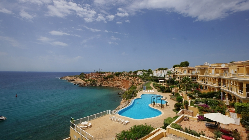 Penthouse in Nova Santa Ponsa - View from terrace