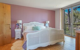 Villa in Son Vida - Bedroom with mountain view