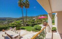 Villa in Son Vida - Covered terrace