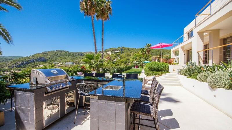 Villa in Son Vida - Garden Bar