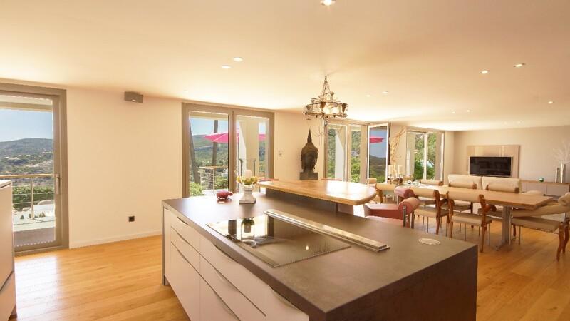 Villa in Son Vida - Kitchen,Living and diinig