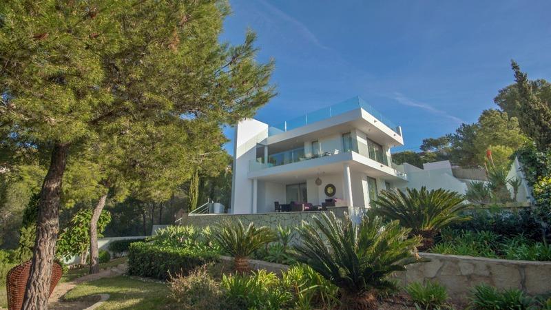 Villa in Costa D´en Blanes - Building view2