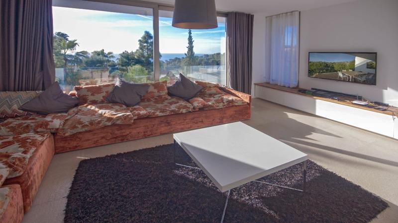 Villa in Costa D´en Blanes - Living area
