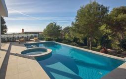 Villa in Costa D´en Blanes - Pool terrace2