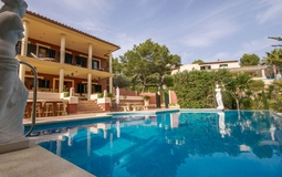 Villa in Costa de la Calma - Pool and building view