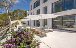 Mansion in Camp de Mar - Guest house and terrace