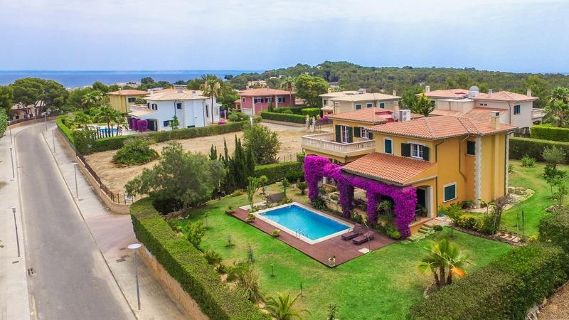 Villa in Cala Vinyes - Aerial1
