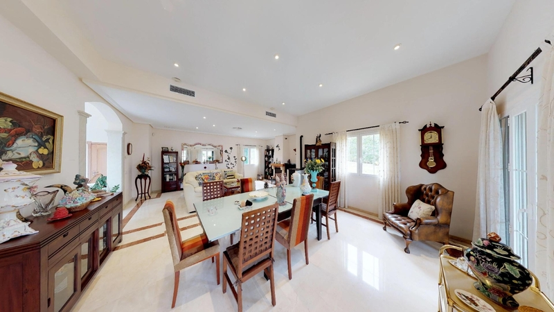 Villa in Cala Vinyes - Living room & Dining Area
