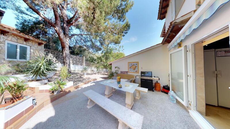 Villa in El Toro - Port Adriano - Kitchen terrace