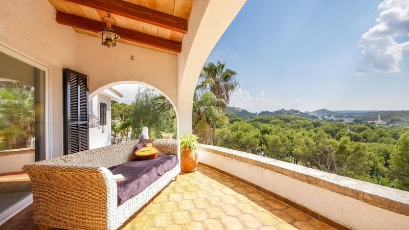 Villa in Costa de la Calma - COVERED TERRACE