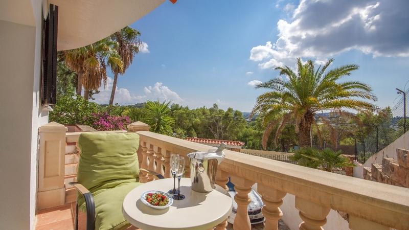 Villa in Costa de la Calma - GUEST TERRACE