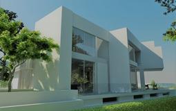Villa in El Toro - Port Adriano - Facade + garden