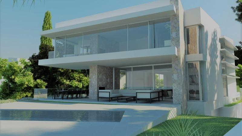 Villa in El Toro - Port Adriano - Facade