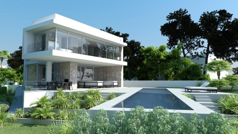 Villa in El Toro - Port Adriano - Pool + garden