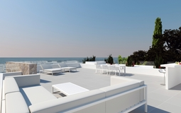 Villa in El Toro - Port Adriano - Sea view roof terrace