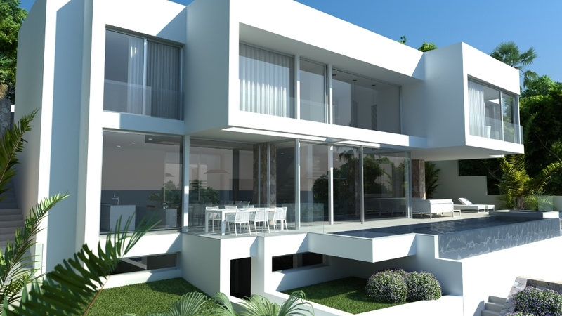 Villa in Costa D´en Blanes - Facade