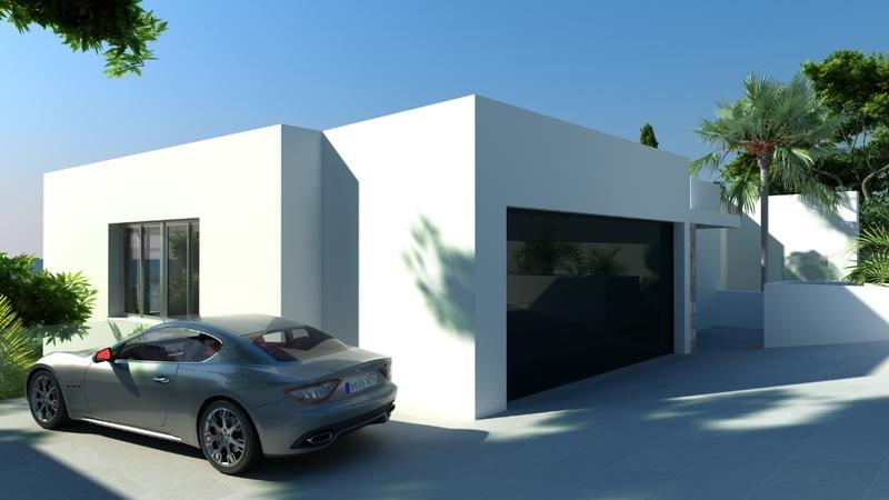 Villa in Costa D´en Blanes - Parking