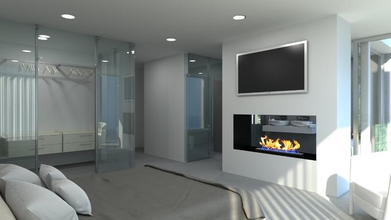 Villa in Costa D´en Blanes - Master bedroom