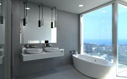 Villa in Costa D´en Blanes - Master bathroom