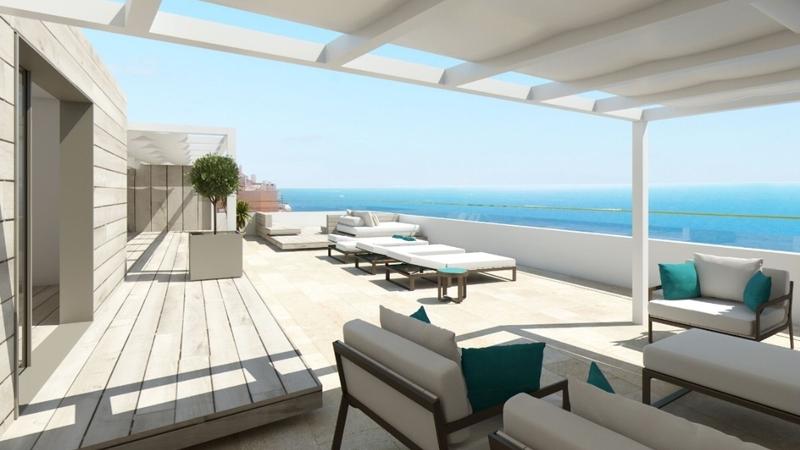 penthouse zu verkaufen im illetes calvi a illetas 103. Black Bedroom Furniture Sets. Home Design Ideas