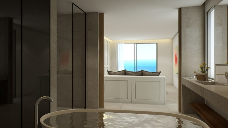 Penthouse in Illetes - Master bedroom suite