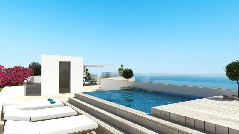 Penthouse in Illetes - Rooftop Pool