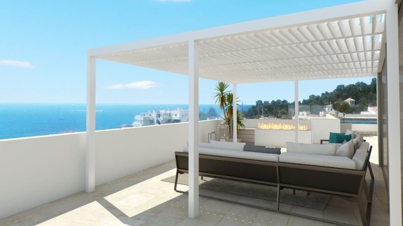 Penthouse in Illetes - Rooftop terrace