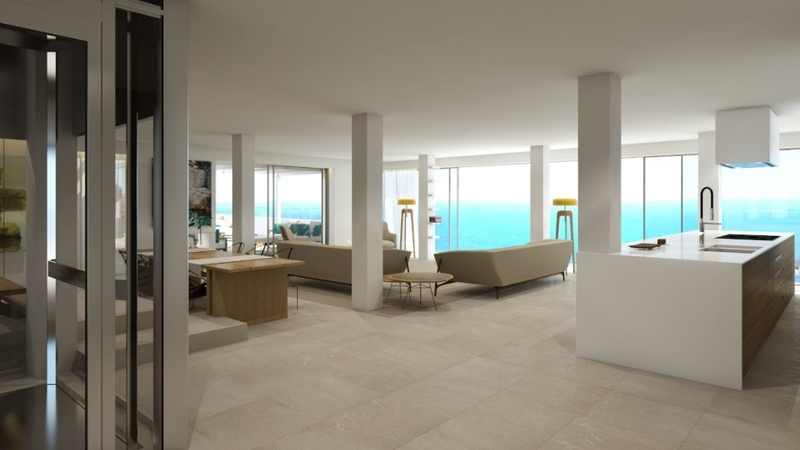 Penthouse in Illetes - Open plan Living