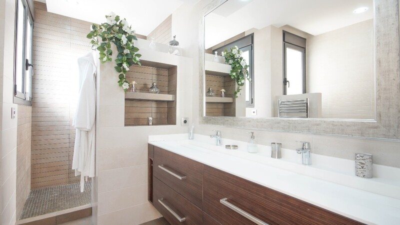 Villa in Costa de la Calma - Master bathroom