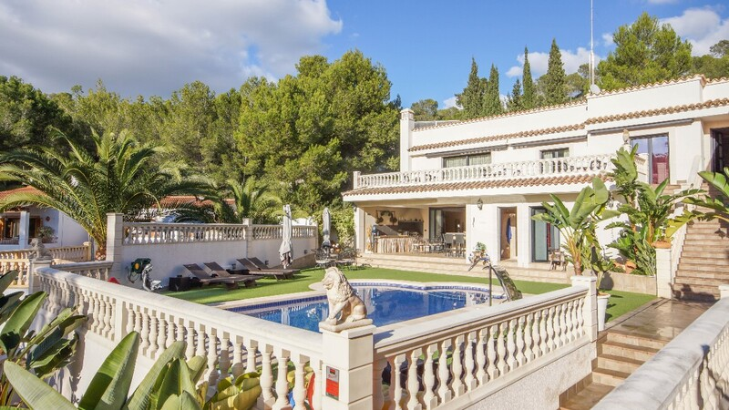 Villa in Costa de la Calma - Pool terrace