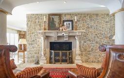Villa in Costa D´en Blanes - Fireplace
