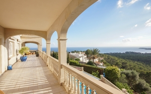 Villa in Costa D´en Blanes - Terrace view
