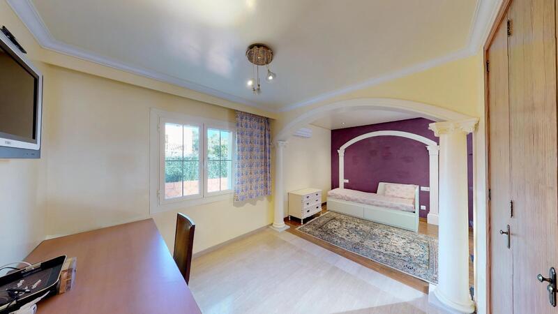 Villa in El Toro - Port Adriano - Lower Bedroom