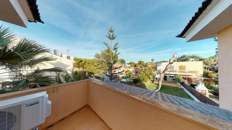 Villa in El Toro - Port Adriano - Upper Terrace