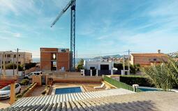 Villa in El Toro - Port Adriano - Guest Bedroom Sea View