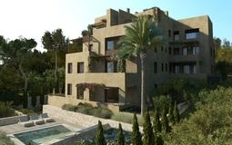 Penthouse in Bonanova - Fachada SurEste