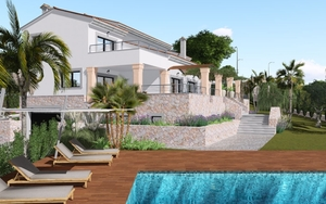 Villa in Son Gual - pool