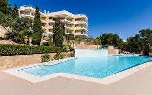 Duplex in Sol de Mallorca - piscina