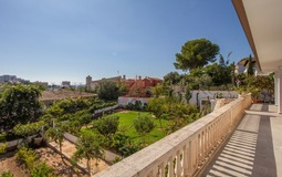 Villa in Palmanova - Terrace and garden view