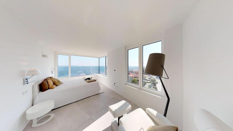 Penthouse in Illetes - Guest Bedroom