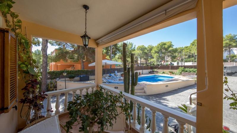Villa in El Toro - Port Adriano - Covered terrace
